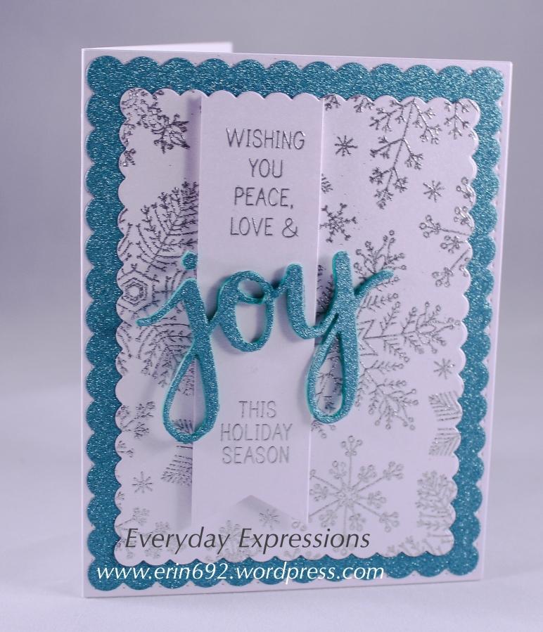 Wishing You Peace, Love, &Joy