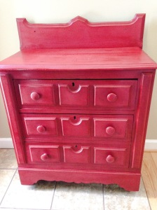 Grandma's antique hutch painted with ASCP. Details to follow soon!