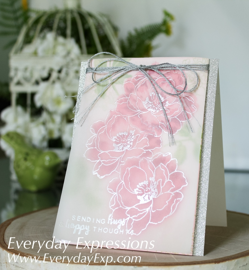 Vellum Beautiful Day Cards