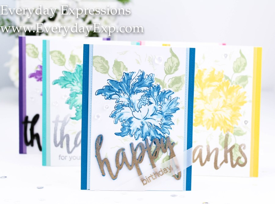 Altenew Majestic Bloom Card Set