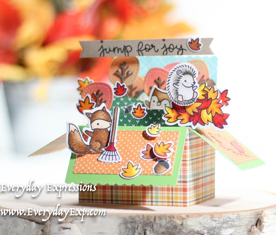 Lawn Fawn Pop-Up Card