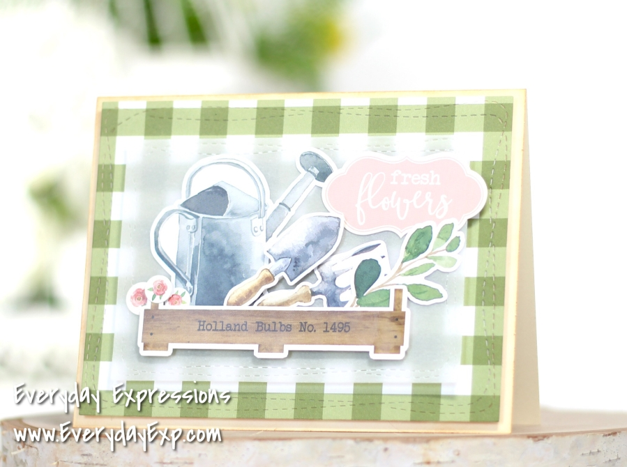 Simon Says Stamp March Card Kit – Card #4