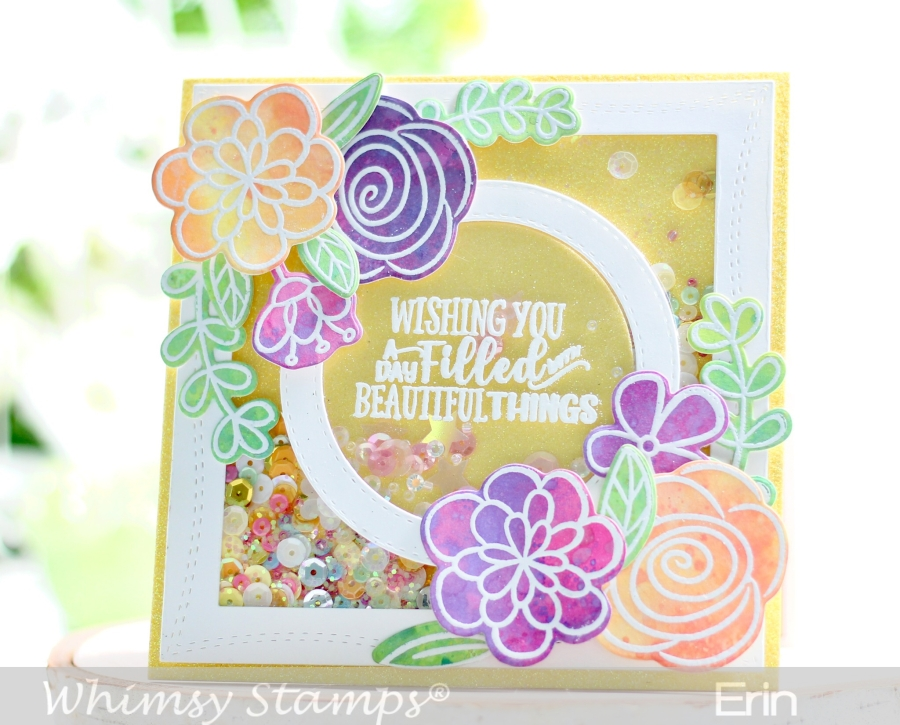 Whimsy July Paper Door