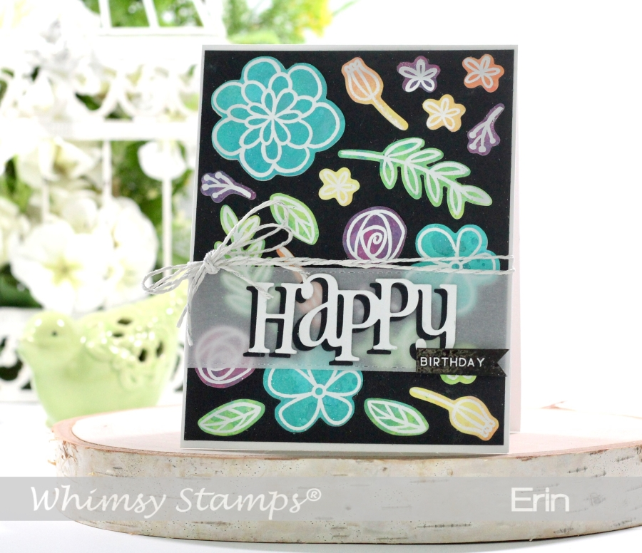 Inlaid Die Cuts with Whimsy Paper Door