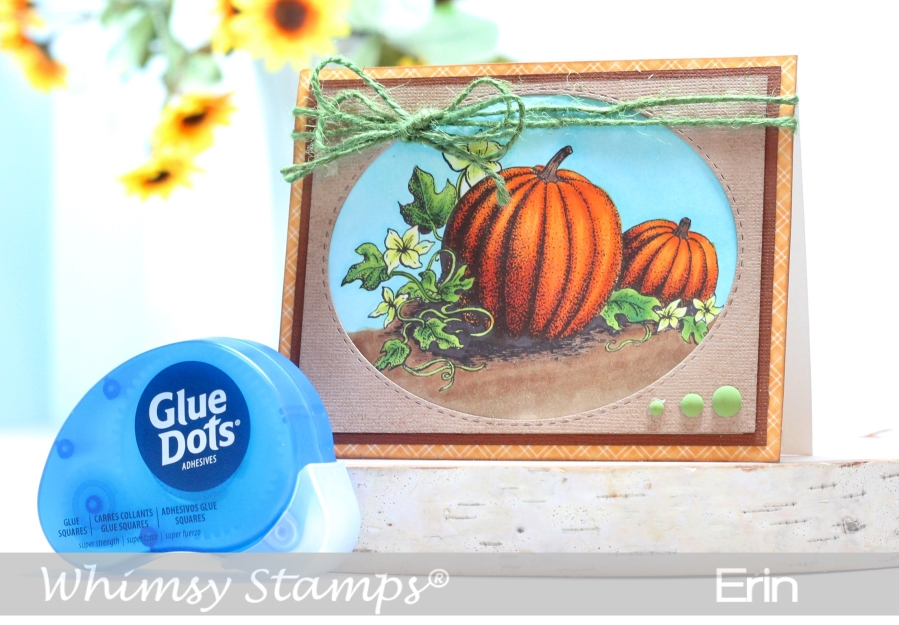 Whimsy Stamps and Glue Dots Inspirations Hop