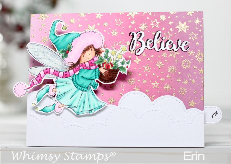 Whimsy Stamps Kinetic Slider Card