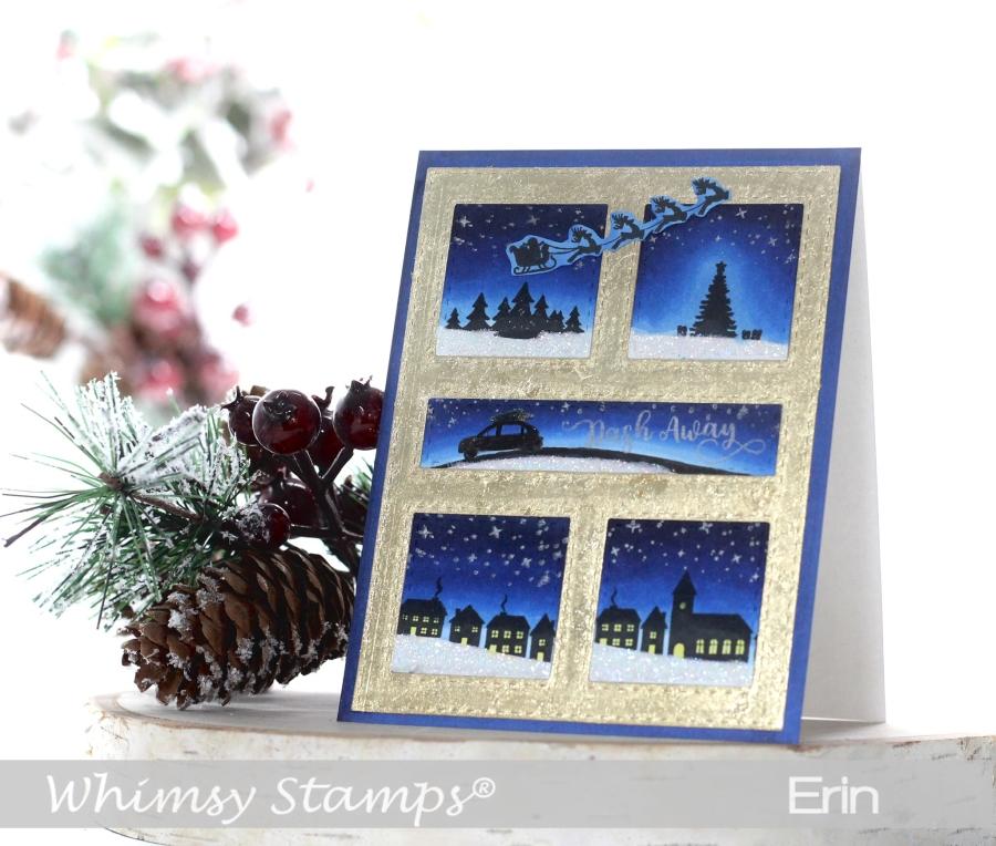 Dash Away ChristmasCard
