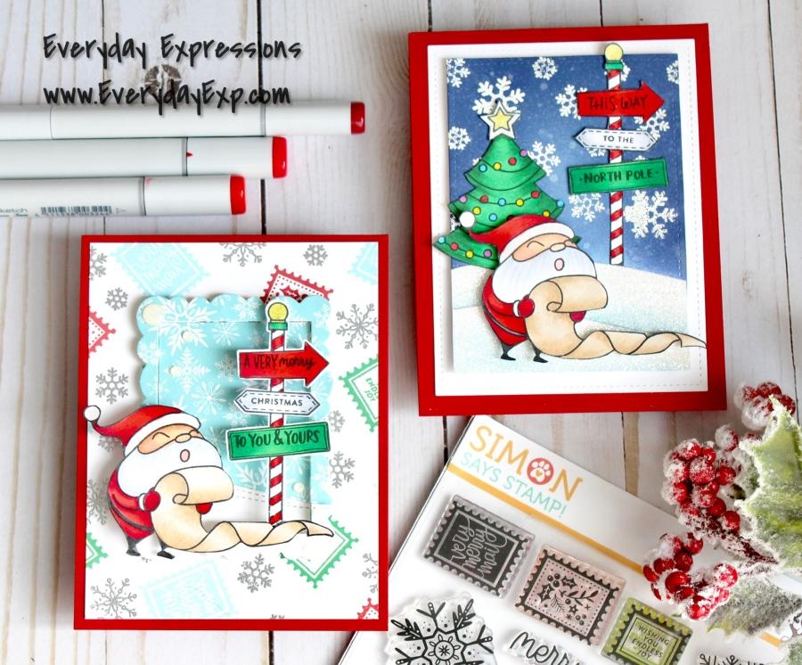 Simon Says Stamp December CardKit