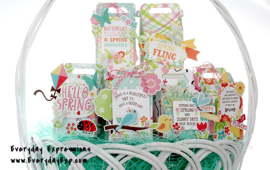 Echo Park Spring Fling Gift Boxes