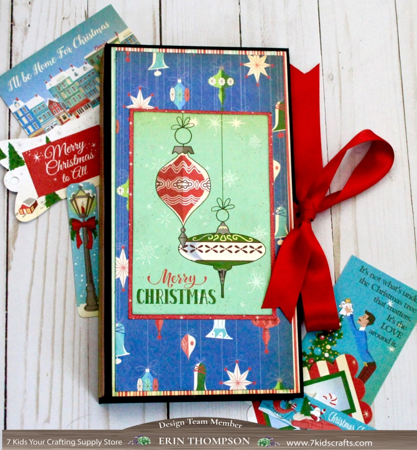 Simple Christmas Photo Folio