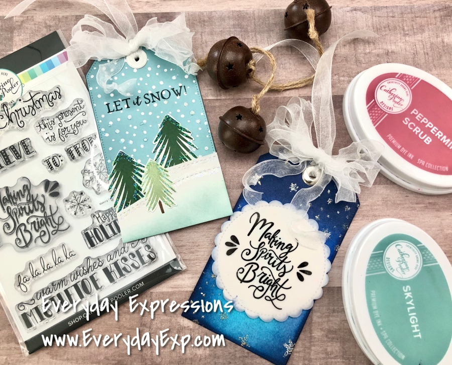 Catherine Pooler It's All About Christmas Tags