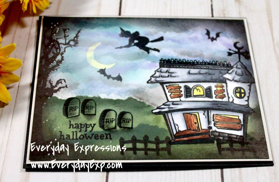 Catherine Pooler Spooky Hollow Card