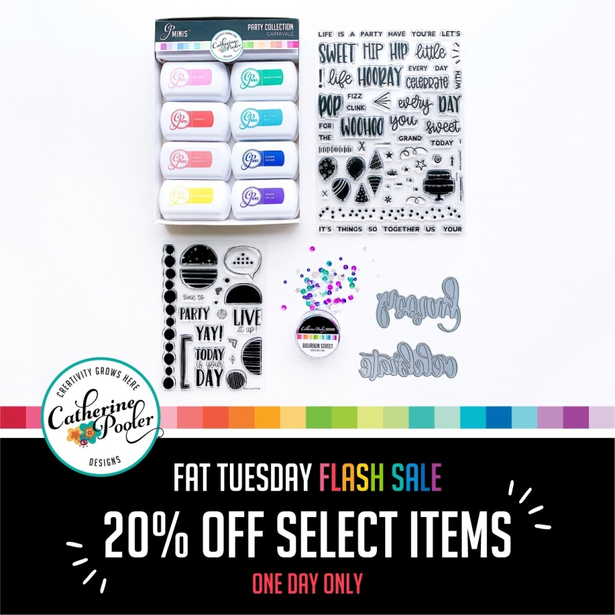 Catherine Pooler Fat Tuesday Flash Sale!