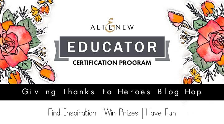 Altenew Educator Blog Hop June 2020