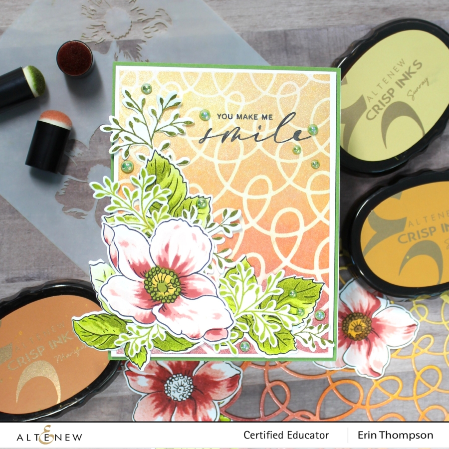 Altenew Educators Style It With Stencils Blog Hop & Linky Party + Giveaway