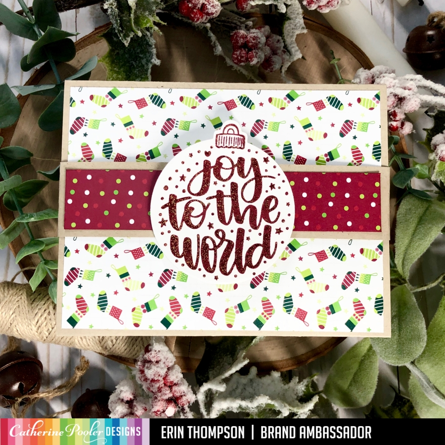Caroling Sentiments Gift Card Holder