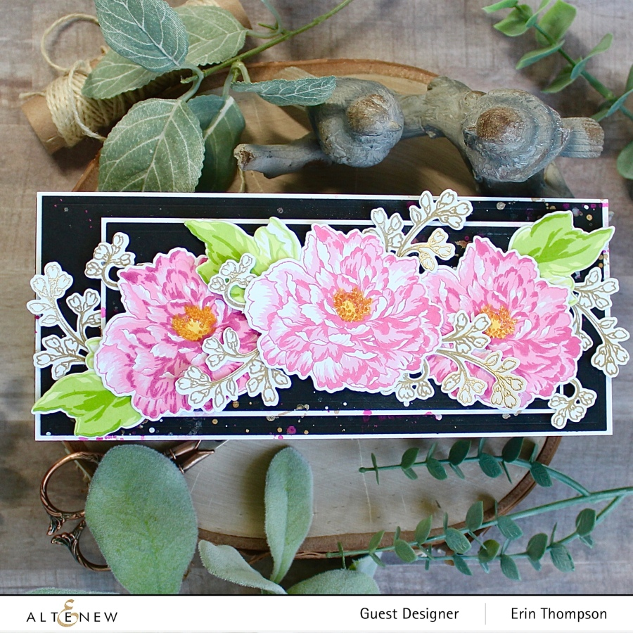 Altenew Build-A-Flower: Tree Peony Release Blog Hop +Giveaway