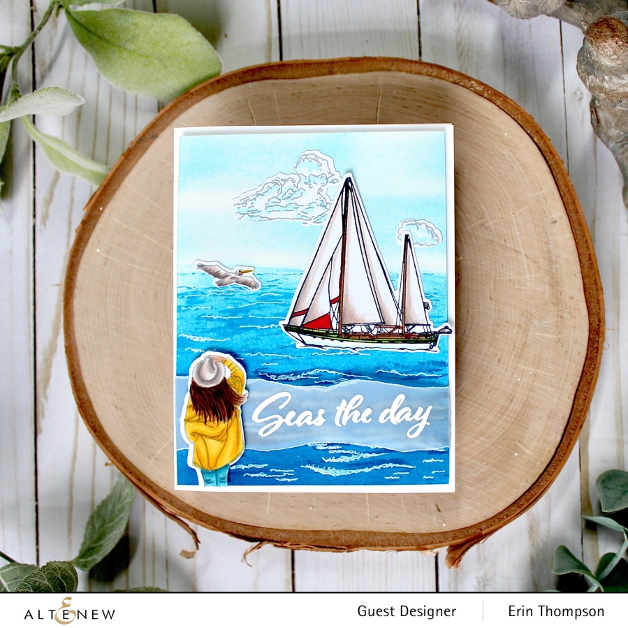 Altenew Adventures Ahead Stamps/Dies/Stencils/More Collection Release Blog Hop +Giveaway