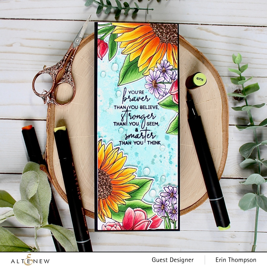 Altenew Craft Your Life Project Kit: Seasonal Blooms Release Blog Hop +Giveaway