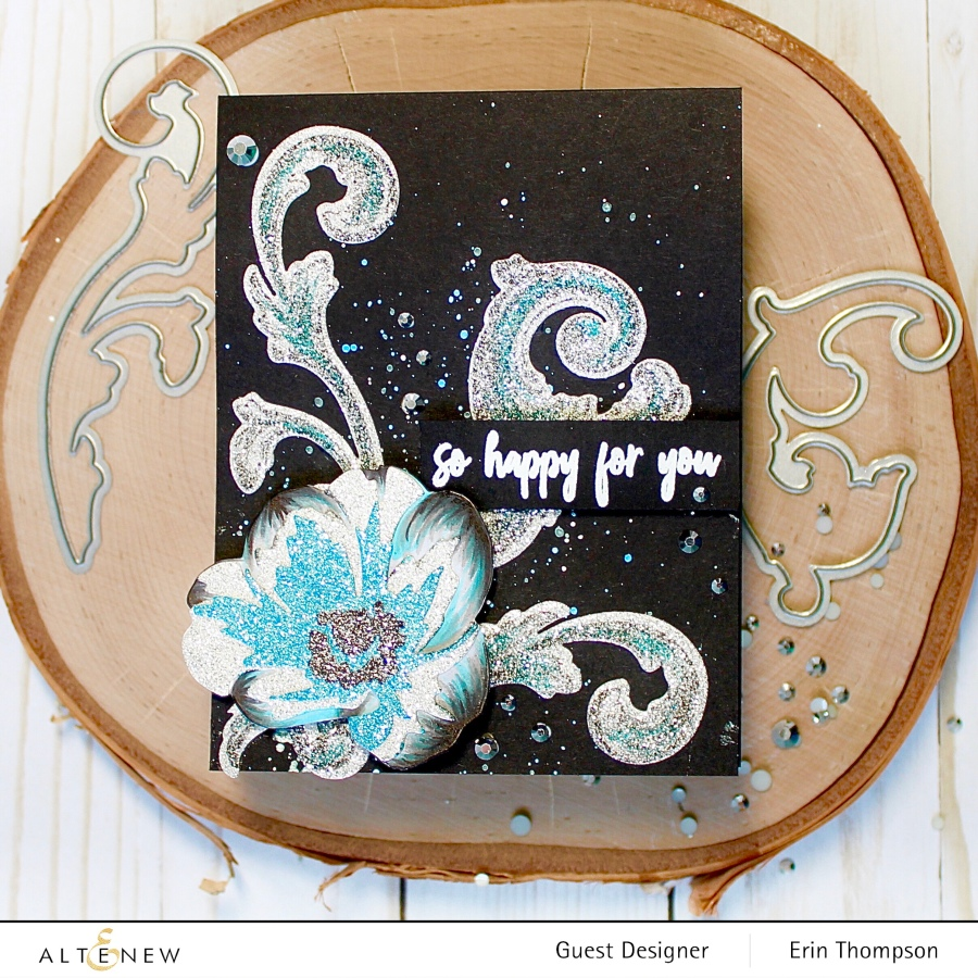 Altenew Craft-A-Flower: Daffodil & Glitter Cardstock Release Blog Hop +Giveaway