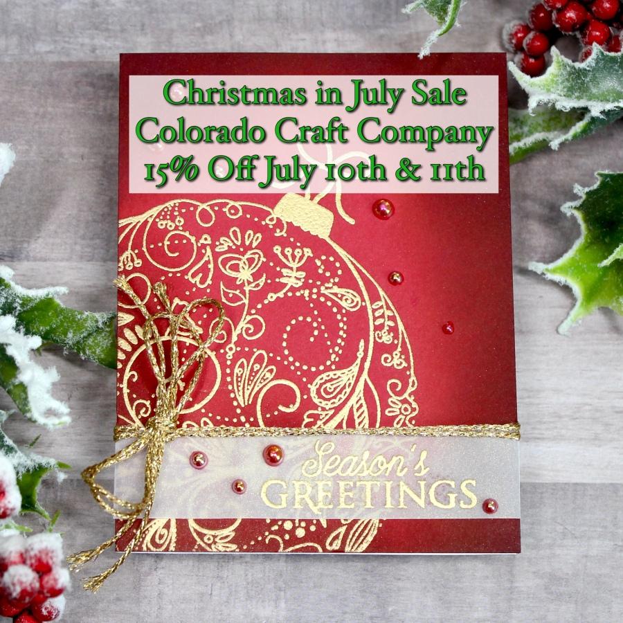 Christmas in July Sale – Colorado CraftCompany