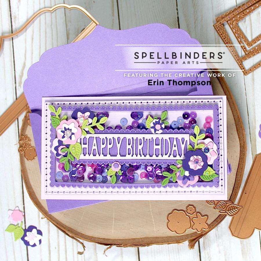 Spellbinders Paper Arts Large Die of the MonthClub