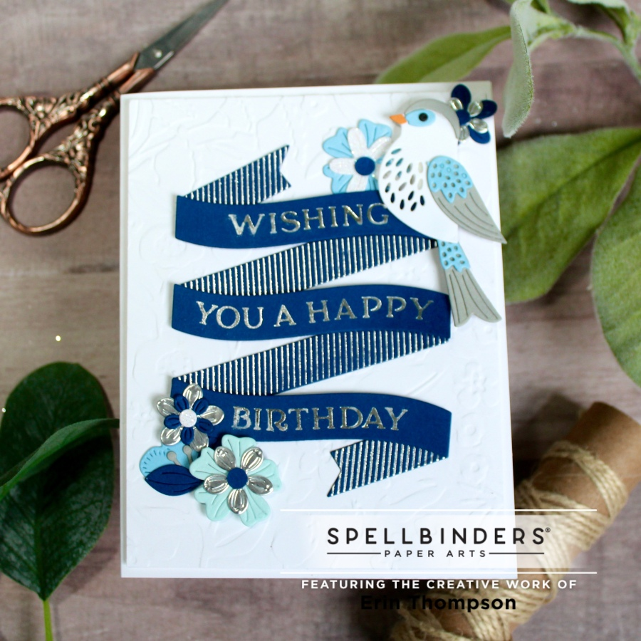 Spellbinders' Paper Arts Glimmer Hot Foil Kit of theMonth